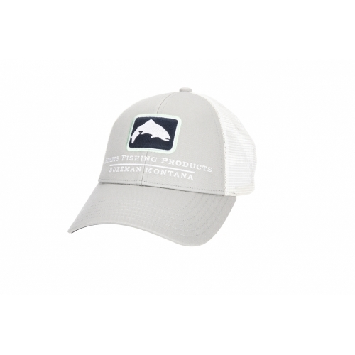 Simms Small Fit Trout Icon Trucker Sterling