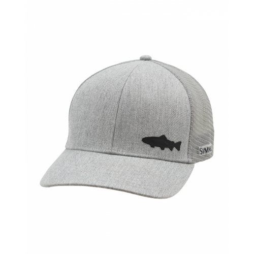 Simms Payoff Trucker (Trout) Heather Grey