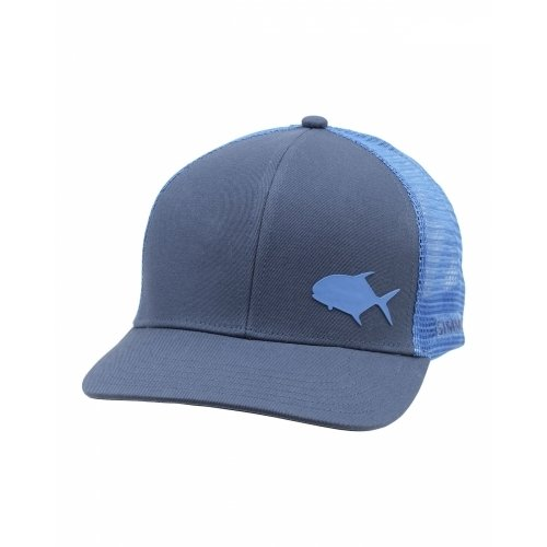 Simms Payoff Trucker (Permit) Blue Depths