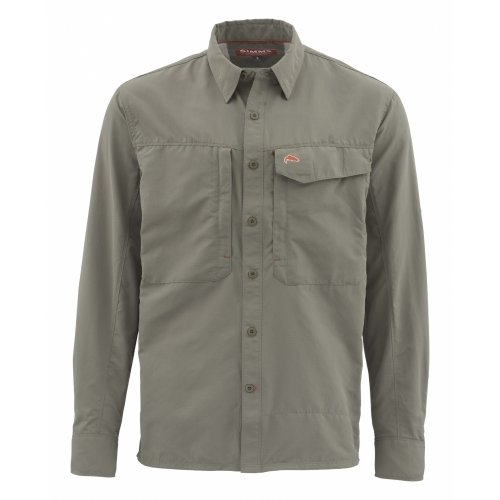 Simms Guide Shirt Olive UPF 50