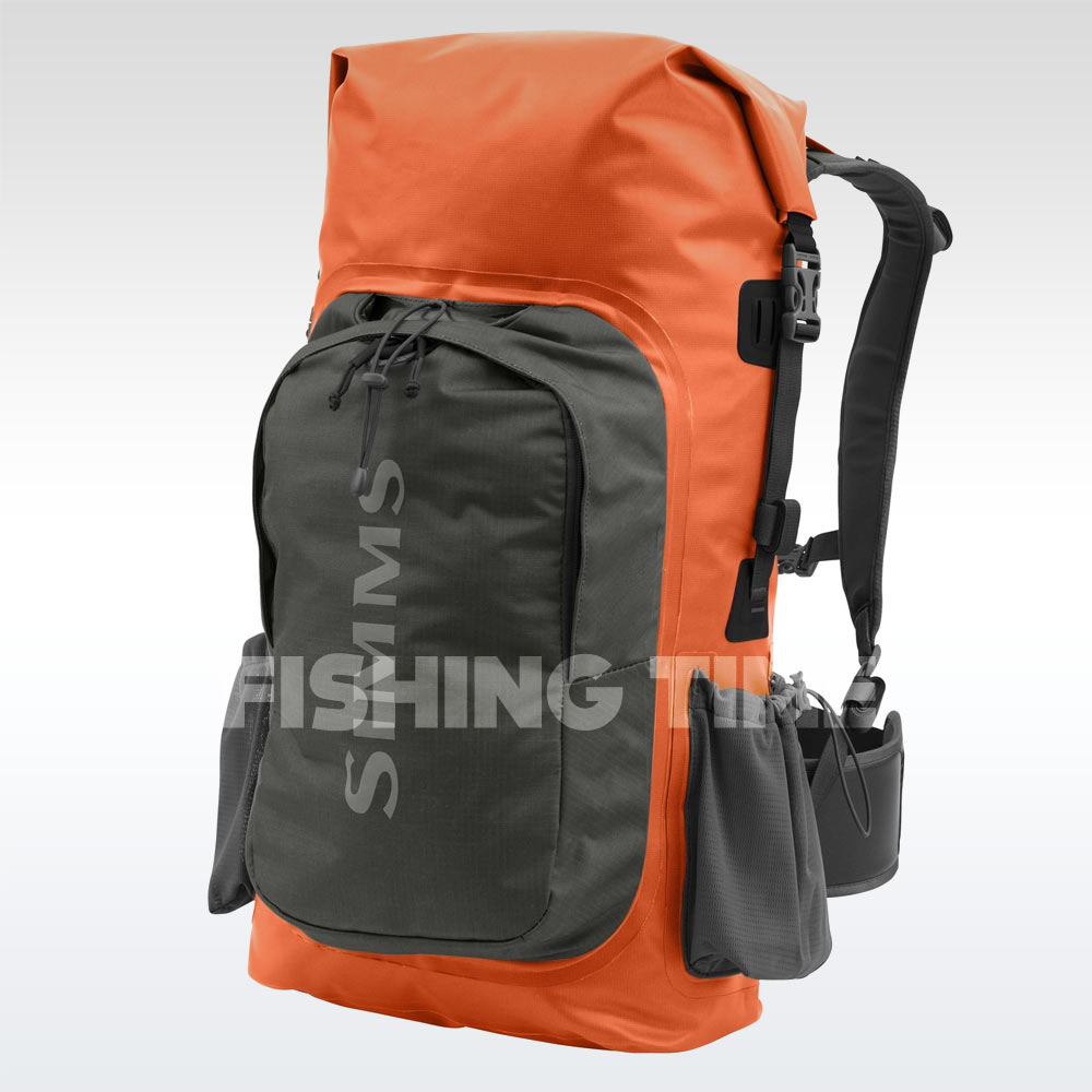 Simms Dry Creek Backpack Bright Orange táska