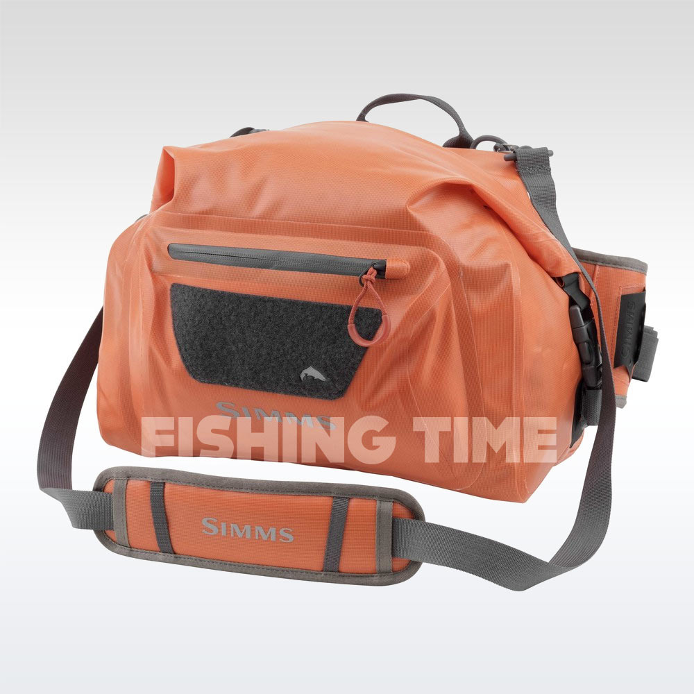 Simms Dry Creek Hip Pack Bright Orange táska