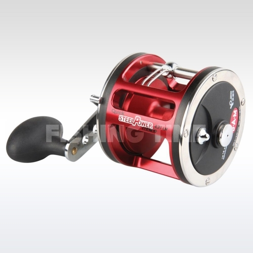 D.A.M. Steelpower Red Saltwater Trollingreel