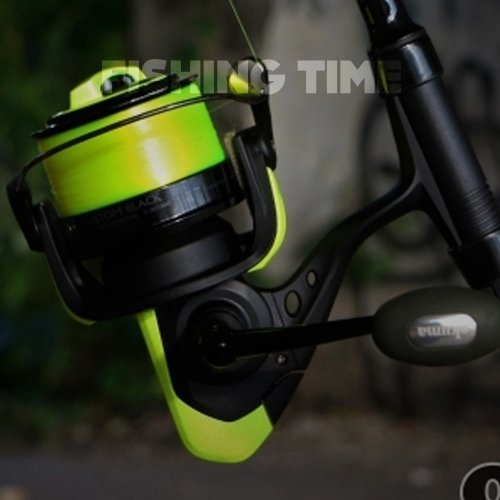 Okuma Custom Black Fluo Yellow távdobó orsó