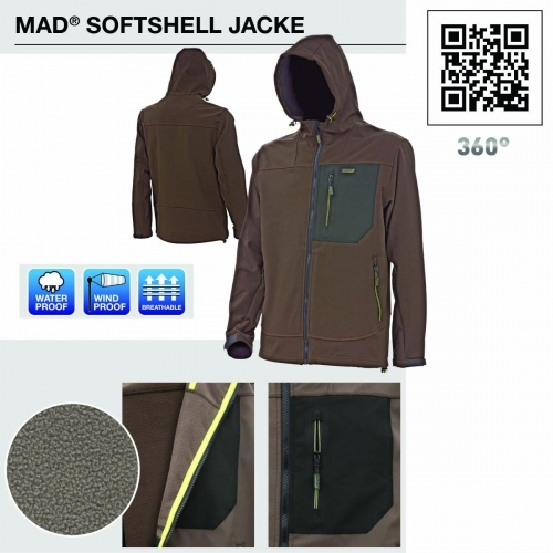 D.A.M. Mad Softshell Jacket
