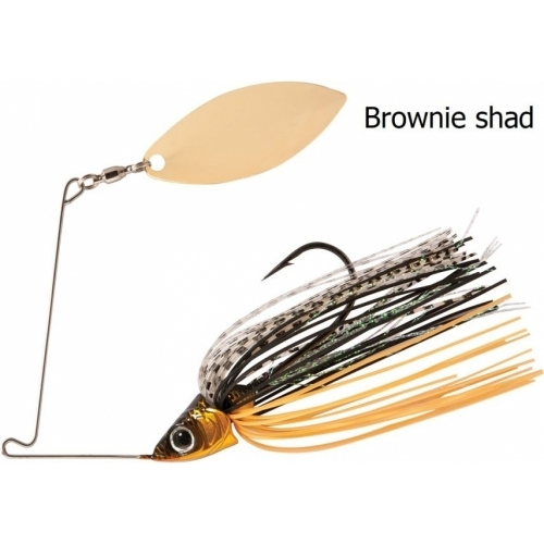 Rapture Sharp Spin Single Willow 14 G White Shad