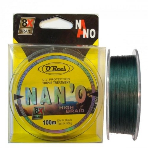 OREEL Nano High Braid 100m fonott zsinór