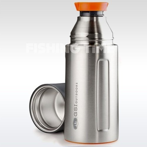 GSI Outdoors Glacier Stainless Vacuum Bottle Silver 0.5l termosz