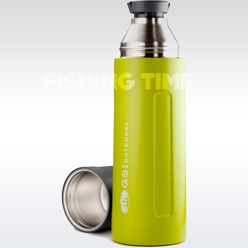GSI Outdoors Glacier Stainless Vacuum Bottle Green 1l termosz