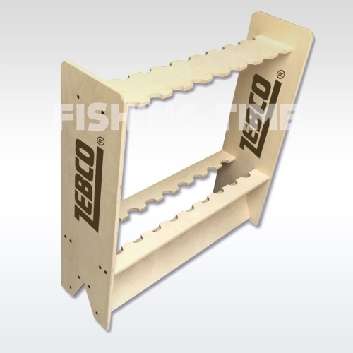 Zebco Rod Display - bottartó (70x20x70cm)
