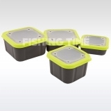 Matrix Grey/Lime Bait Boxes Solid Top Csalitartó Doboz