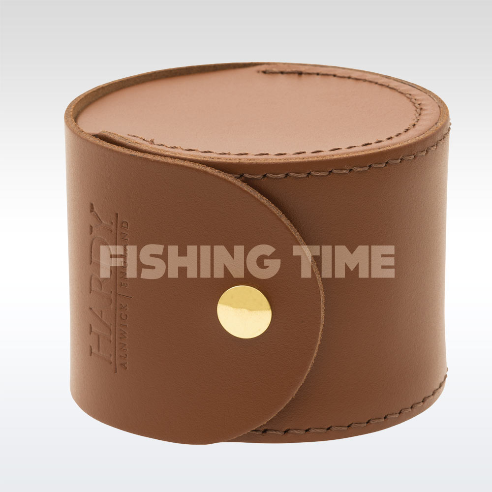 Hardy HBX Leather Reel Case Wide bőr orsótartó tokok