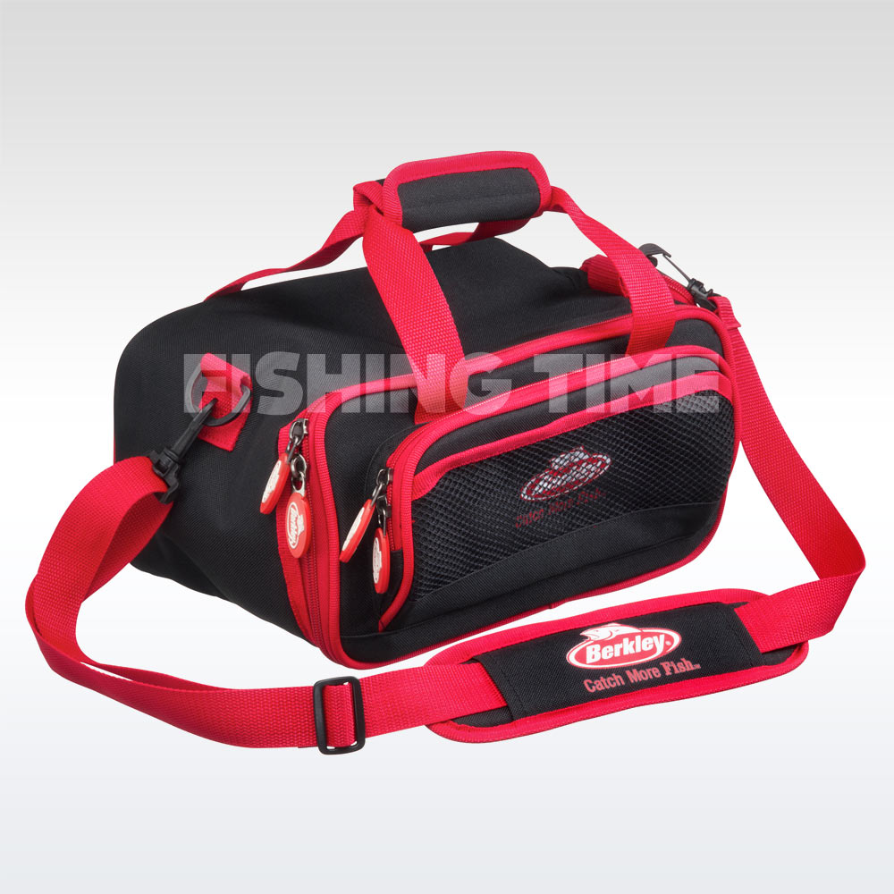 Berkley PowerBait Bag Red M pergetőtáska
