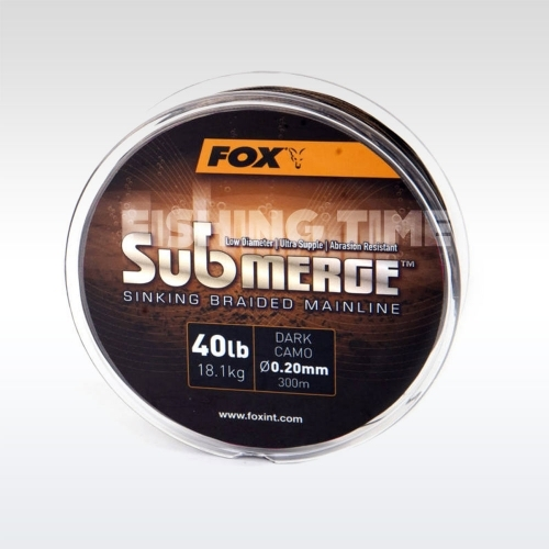Fox Submerge Dark Camo Sinking Braid