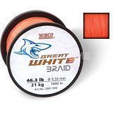 Zebco Great White Braid 1000m