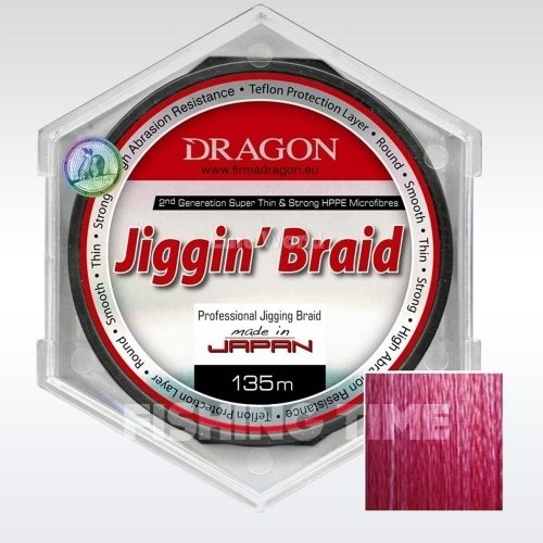 Dragon Jiggin Braid 135m fonott zsinór