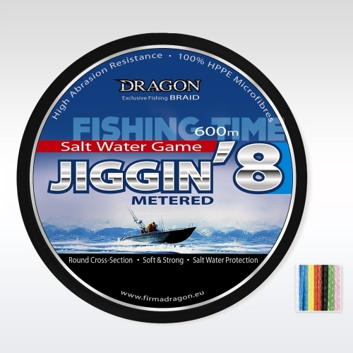 Dragon Salt Water Game Jiggin8 Braid 600m fonott zsinór