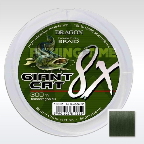 Dragon Giant Cat 8X Braid 300m fonott zsinór