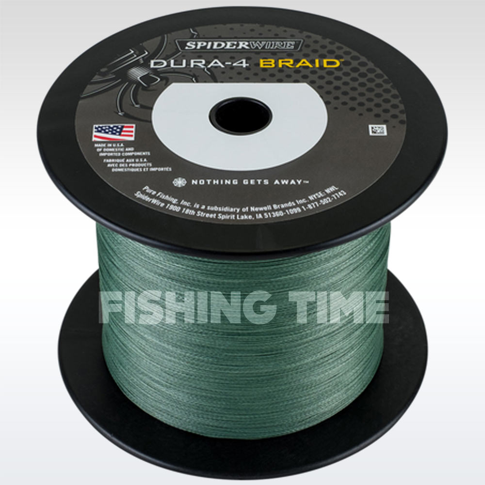 SpiderWire Dura 4 Green 1800m