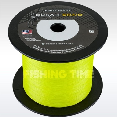 SpiderWire Dura 4 Yellow 1800m