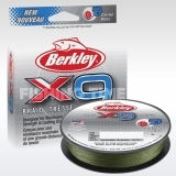 Berkley X9 Braid Low Vis Green 300m fonott zsinór
