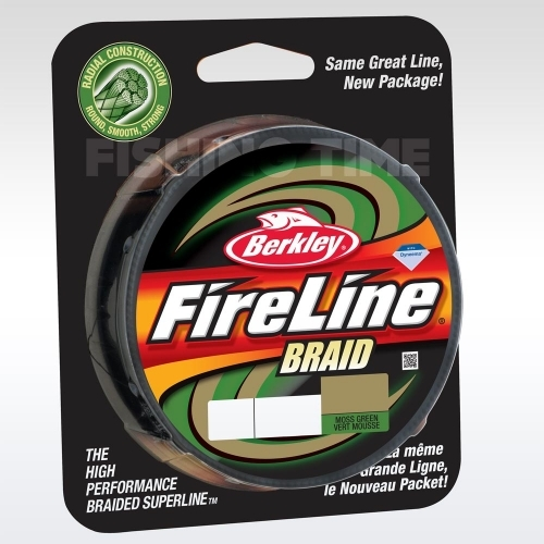 Berkley FireLine Braid Green 110m