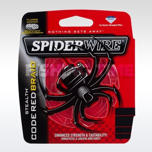 SpiderWire Stealth Code Red 110m
