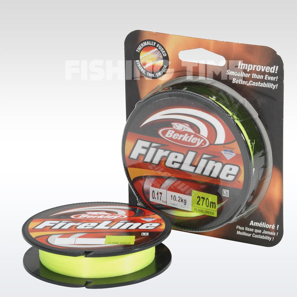 Berkley Fireline Flame Green 1800m