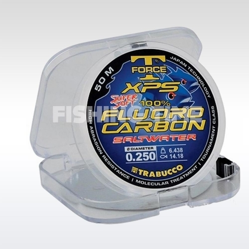 Trabucco T-Force Fluorocarbon Saltwater 50m