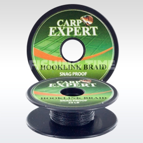 Carp Expert Hookline Braid Snag Proof 10m Fekete