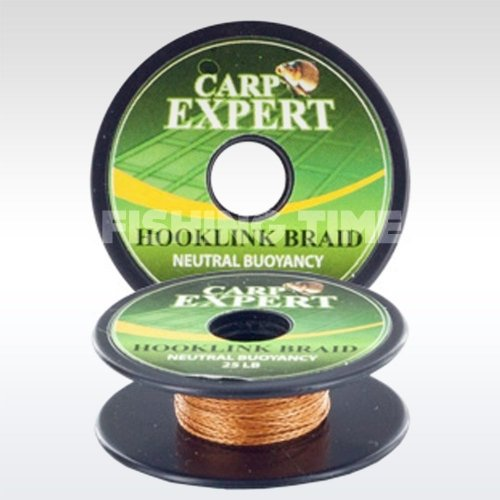 Carp Expert Hookline Braid Neutral Bouyancy 10m Barna