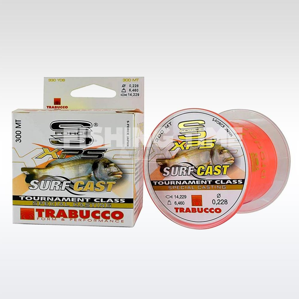 Trabucco S-Force XPS Surf Cast 300m