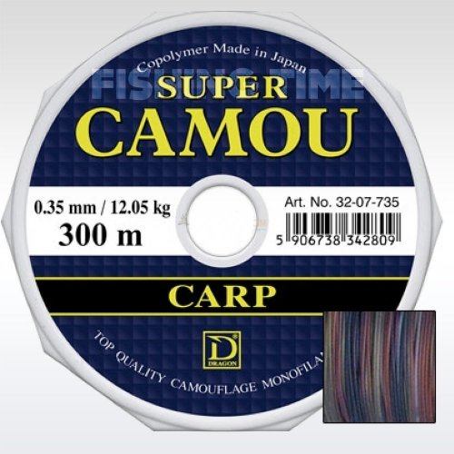 Dragon Super Camou Carp 300m
