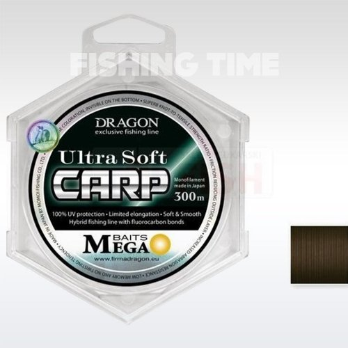 Dragon Ultra Soft Carp 300m
