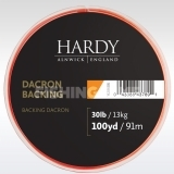 Hardy Backing 30lb 100 Yards Orange alátétzsinór