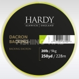 Hardy Backing 20lb 250 Yards Lime Green alátétzsinór