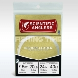 Scientific Anglers Inshore Shock Leader  7.5' (20 lb) with 24'' 40 lb Fluorocarbon Bite Tippet