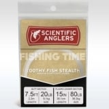 Scientific Anglers Toothy Fish Stealth 7.5' AR Tapered Leader w/15'' 80 lb Fluoro