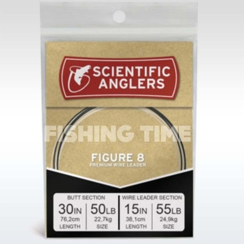 Scientific Anglers Figure 8 Leader 30'' 50 lb Fluoro w 15'' 55 lb NiTi Wire