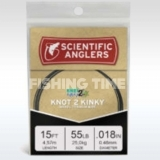 Scientific Anglers 15' Knot 2 Kinky Nickel Titanium Wire 25 lb