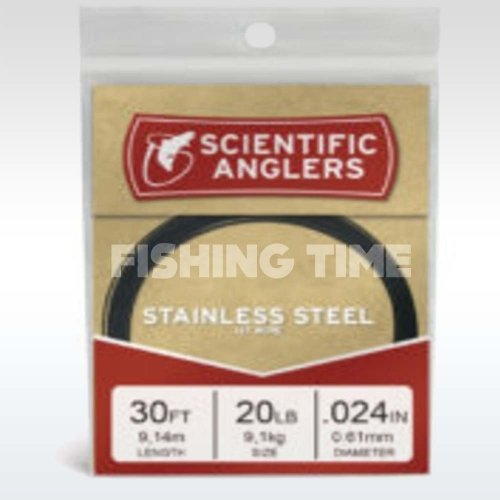 Scientific Anglers 30' Black-Coated 1x7 Stainless 20 lb