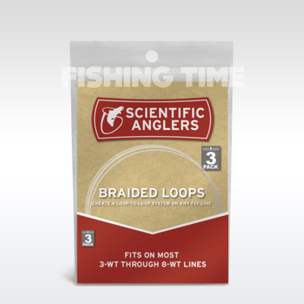Scientific Anglers Braided Loops - 3 Pack