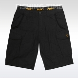 Fox Black & Orange Combat Shorts - rövidnadrág